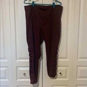 Nola (Addionelle) Yoga Pants - Plum Purple